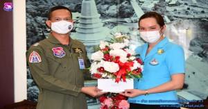ชมรมแม่บ้านทหารอากาศ กองบิน ๔๑ ร่วมจำหน่ายดอกป๊อปปี้ เนื่องในวันทหารผ่านศึก ประจำปี ๒๕๖๔
