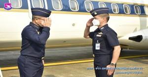 เสนาธิการทหารอากาศ ตรวจเยี่ยมสถานีรายงานดอยอินทนนท์ และ ฝูงบิน ๔๑๖ (เชียงราย)