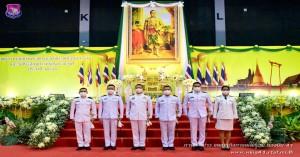 รองผู้บังคับการกองบิน ๔๑ ร่วมพิธีวันพระบาทสมเด็จพระพุทธยอดฟ้าจุฬาโลกมหาราช และวันที่ระลึกมหาจักรีบรมราชวงศ์