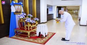 กองบิน ๔๑ รับดอกไม้และน้ำพระอบพระราชทาน