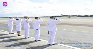 รองผู้บังคับการกองบิน ๔๑ให้การต้อนรับองคมนตรี