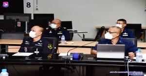 ประชุมตรวจเยี่ยมสายวิทยาการช่างอากาศ ประจำปีงบประมาณ ๒๕๖๔ ผ่านการประชุม VTC